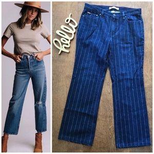 Tommy Jeans Striped Crop Jeans